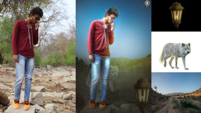 I will do professional photoshop editing manipulation, retouching, FiverrBox