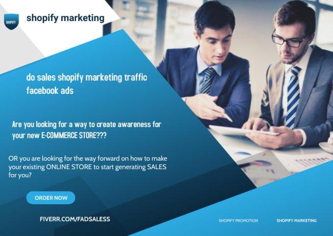 do sales shopify marketing traffic facebook ads, FiverrBox
