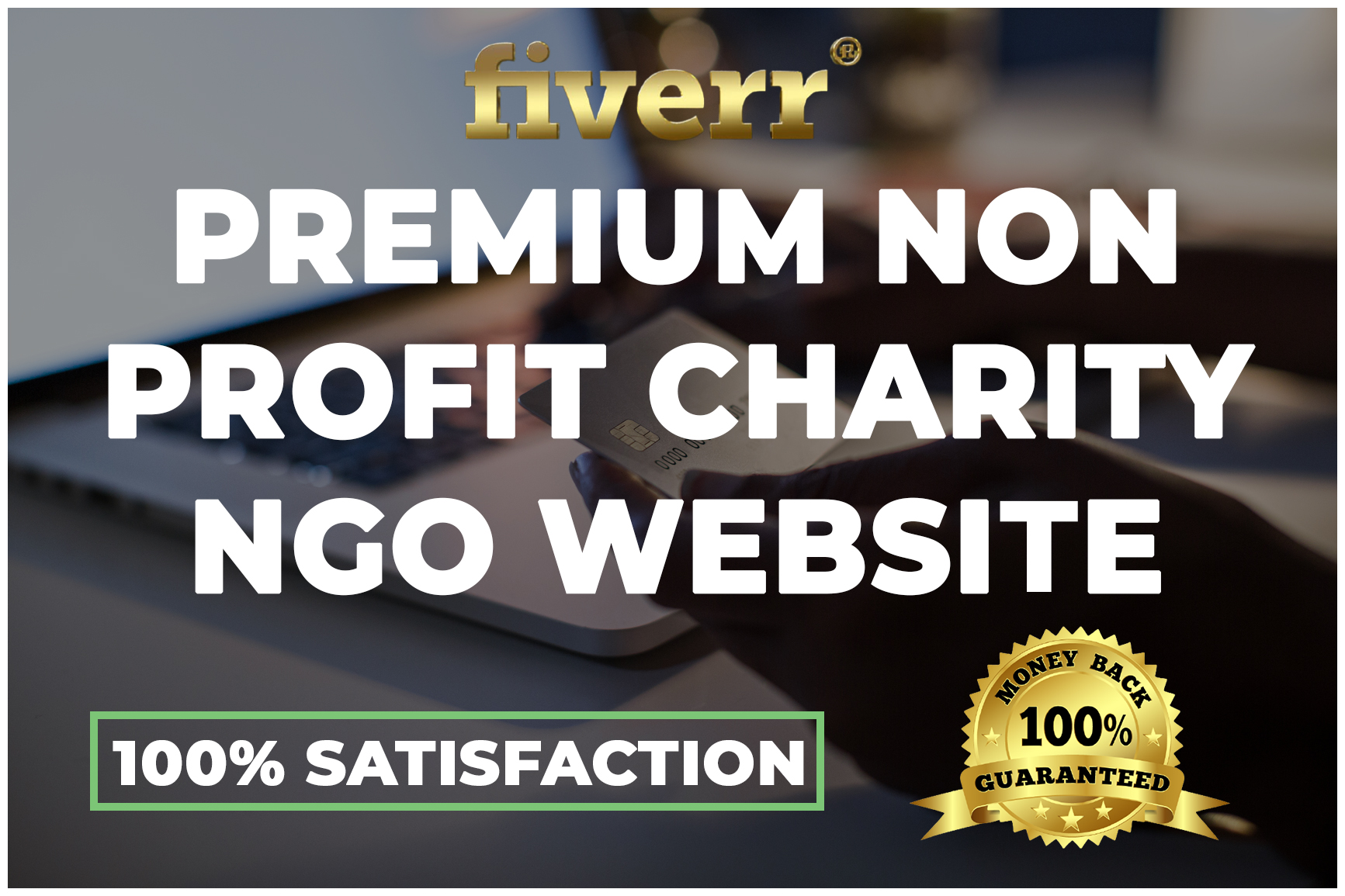 I will create nonprofit website for charity homes, ngo in 24, FiverrBox