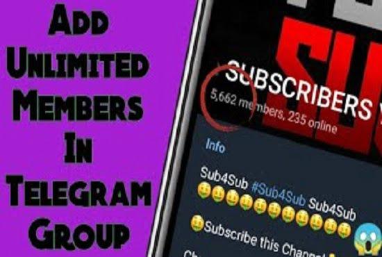 I will do telegram group, telegram member, telegram scraper, telegram promotion, FiverrBox