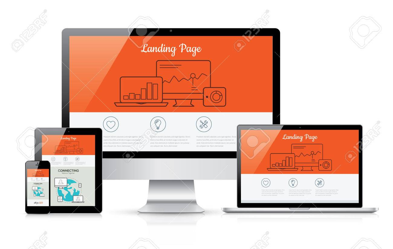 I will create beautiful and modern landing page, FiverrBox