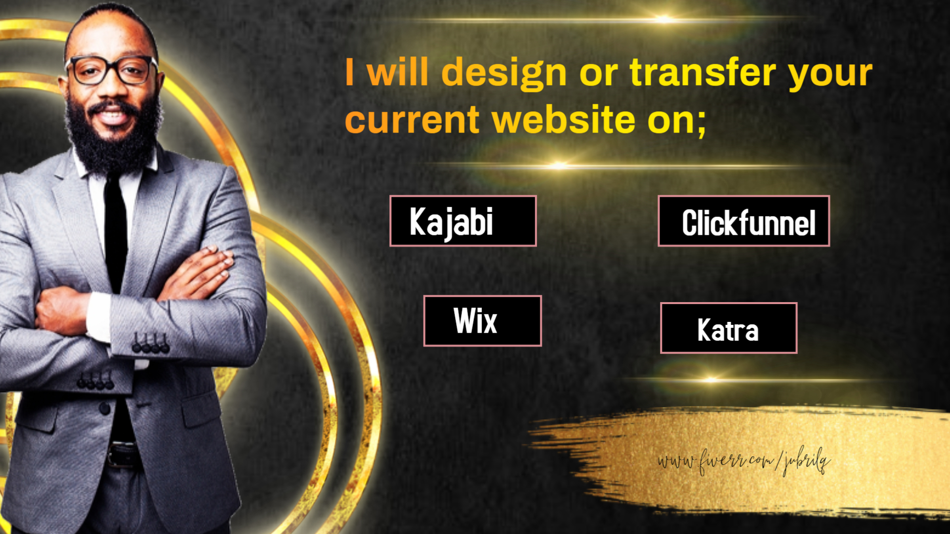I will design or transfer your current website on clickfunnel,kartra, FiverrBox