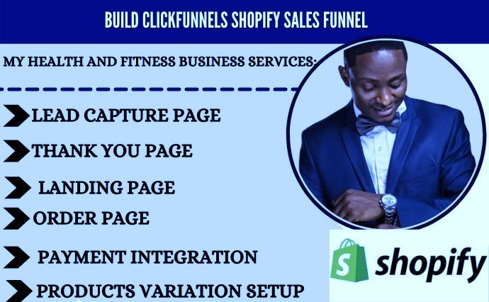 I will build converting sales funnel, shopify sales funnel for shopify store, FiverrBox