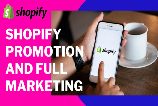 I will do ecommerce shopify store promotion shopify sales and web traffic, FiverrBox