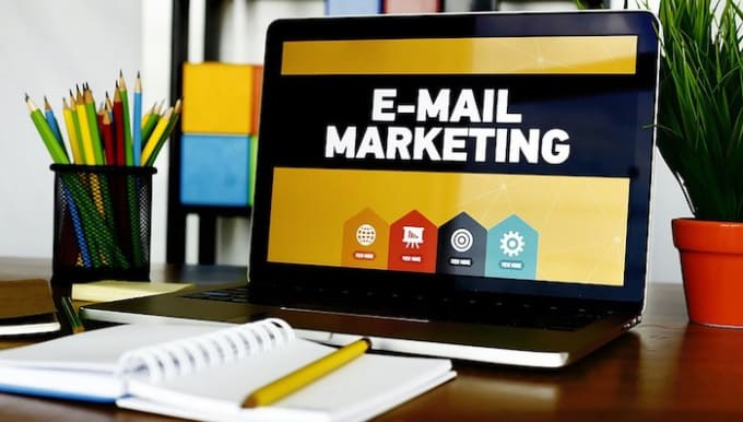 I will setup complete email marketing campaign, email sales funnel, and landing, FiverrBox