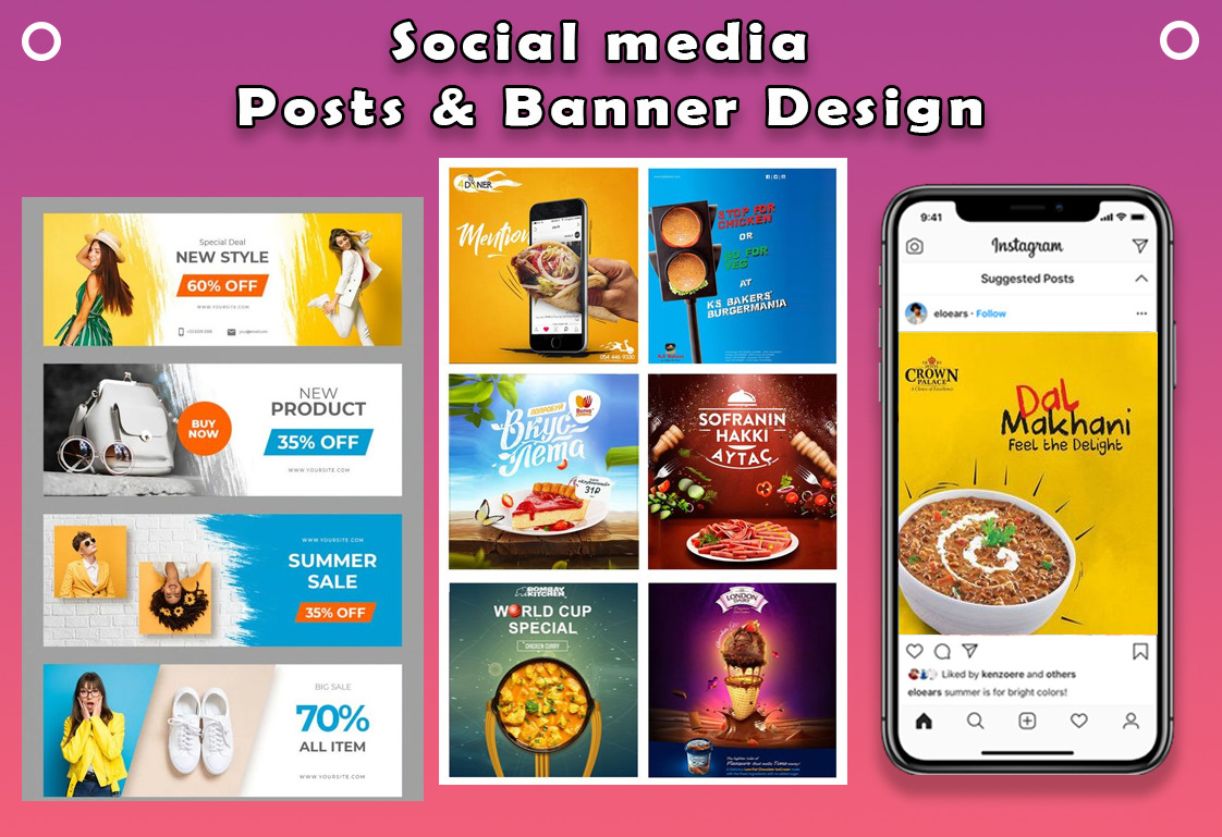 I will create modern web banner or fb cover, banner, ads, FiverrBox