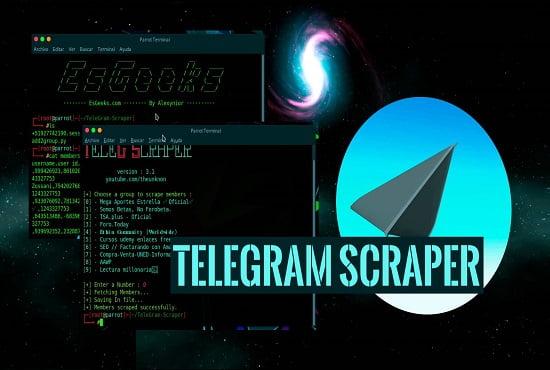 I will promote crypto tokens and the shiller group telegram scraper, FiverrBox