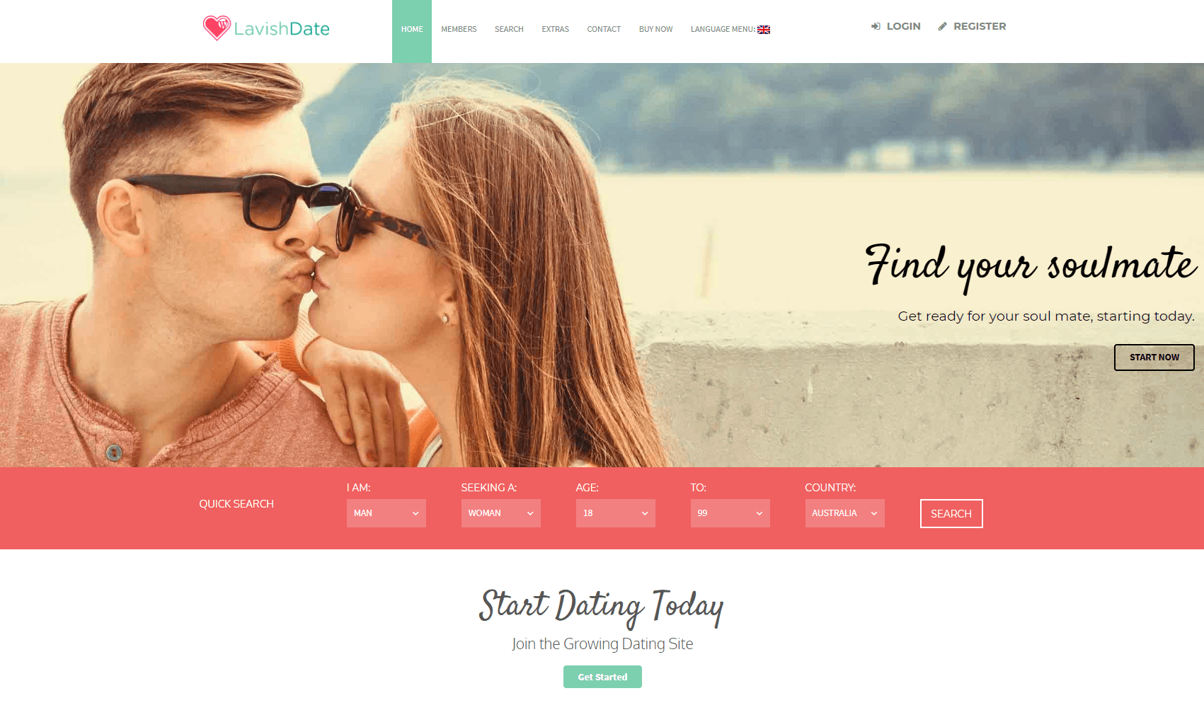 I will create an adult dating website,hookup web and matrimonial website, FiverrBox